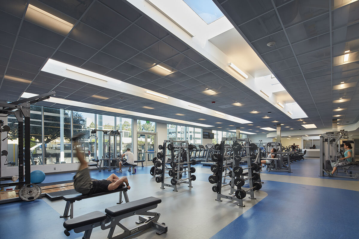UCLA's Kinross Recreation Center Featured in Interior Design