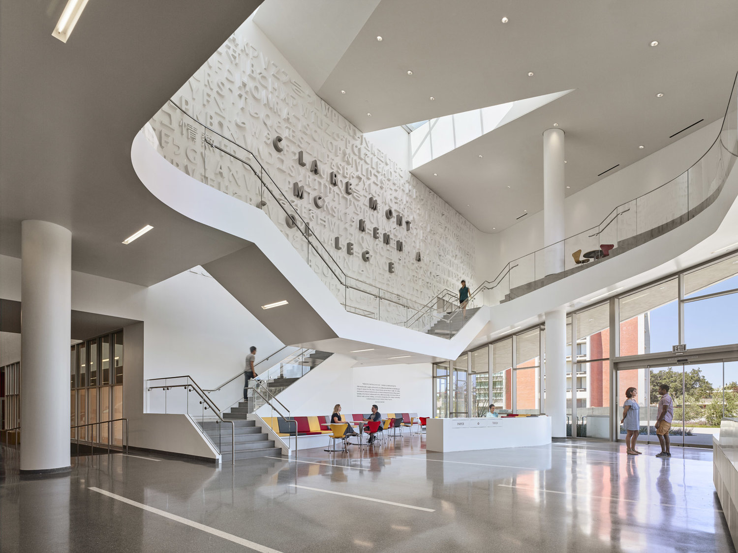 Interior Design 12 Cool College Campus Design Projects Jfak Architects