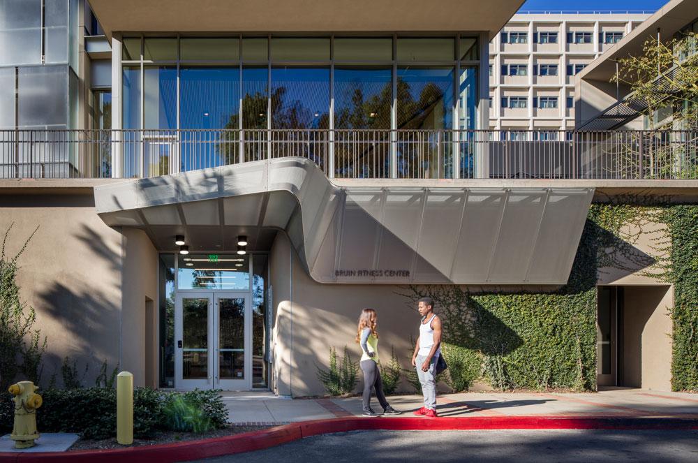 BRUIN FITNESS CENTER, UCLA